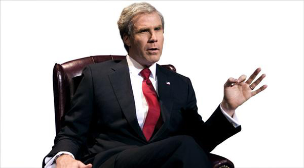 Hail to Will Ferrell as George W. Bush