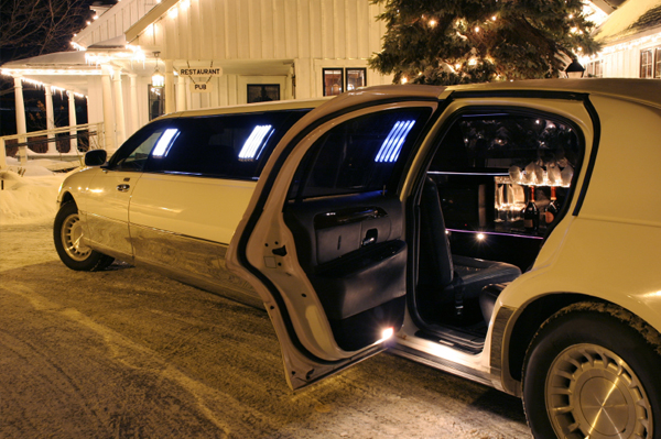 Winter limo