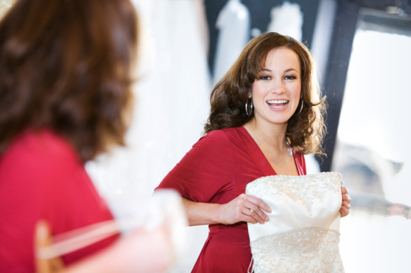 Woman at Bridal Expo