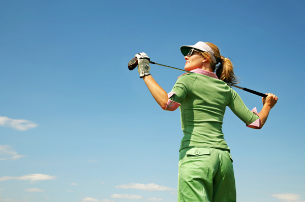 Woman Golfer