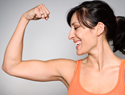 Sexy arms: Arm exercises and fat-burning diet tips