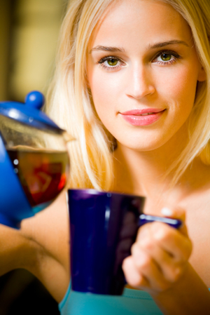 Woman with Teapot