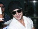 Zac Efron leaves Michelle Rodriguez's house after wild night