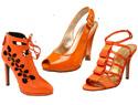Zesty orange shoes