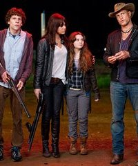Zombieland cast including Abagail Breslin