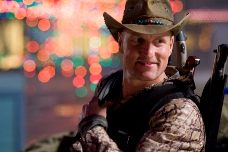 Woody Harrelson has reason to smile: Zombieland is number one