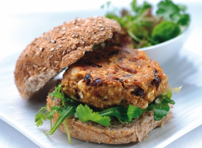 Quinoa turkey burger