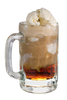 root beer floats - those heady sweet root beer and vanilla ice cream ...