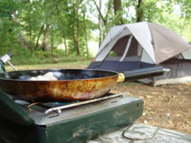Camping cookout