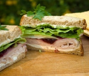 Turkey Cranberry Sandwich