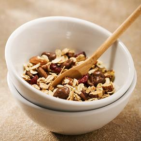 Crunchy Cranberry Raisinet Granola
