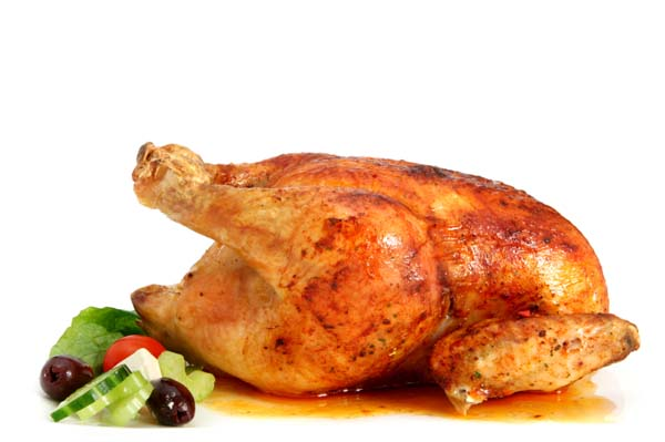 Foolproof roasting chicken recipe Roasting chicken with lemon and ...