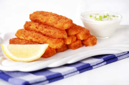 Fish sticks recipes dishmaps for Healthy fish sticks