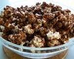 Chocolate popcorn topping