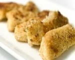 Crispy oven baked fish sticks