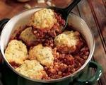 Chili with Corn Dumplings