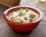Slow cooker broccoli cheese dip