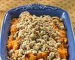 Streusel topped sweet potato bake