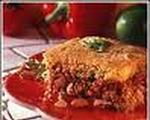 Vegetarian tamale pie