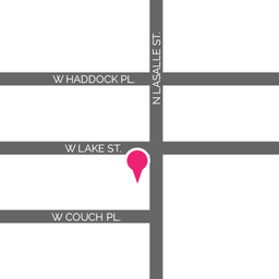 Map of SheKnows Chicago location