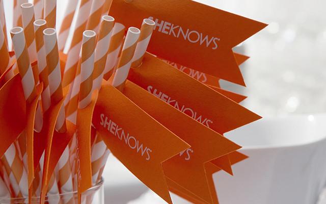 straws with SheKnows logo