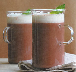 brown russian hot chocolate