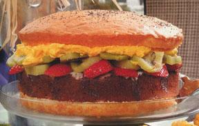 burger noventy cake