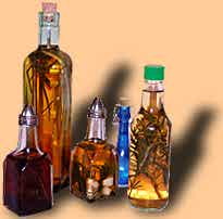 herbed vinegars