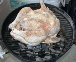 Grill a Turkey