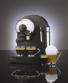 pump espresso machine, brewing coffee