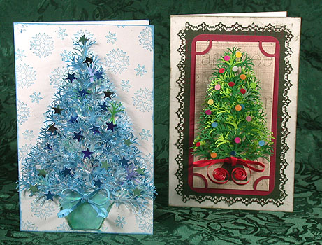 Punch art christmas greeting cards greeting cards card making m4hsunfo
