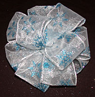 how to make big fluffy ribbon bows