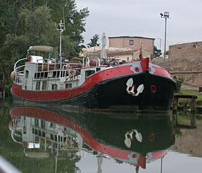 La Dolce Vita, live aboard barge, Venice, Italy
