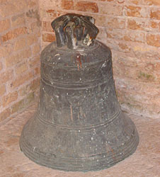 bell at San Francesco del Deserto Island