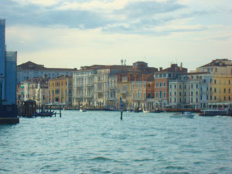 Venice, Italy waterfront