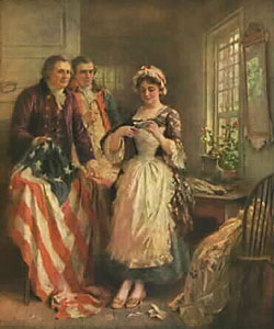 history of the flag, 4th of july