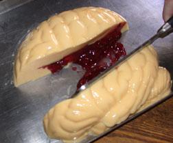 Melba's Bleeding Brain Halloween Gelatin Mold Recipe