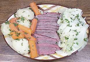 Old Fashioned Corned Beef and Cabbage