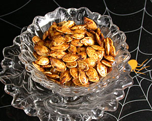 Gourmet roasted pumpkin seeds