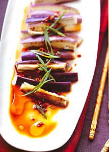 Cecelia Chiang's Eggplant in Garlic Sauce