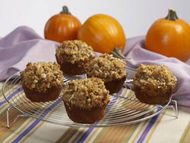 Pumpkin Walnut Bran Muffins Plus Variations
