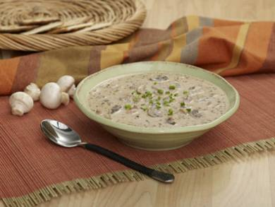 Walnut Faux-Cream of Mushroom Soup