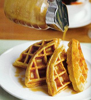 Four Grain Waffles