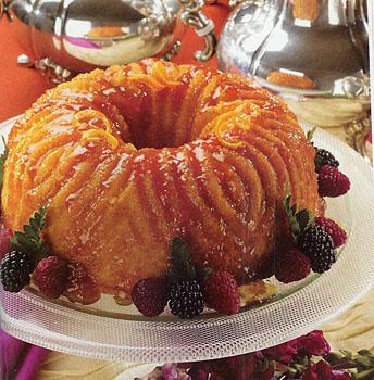 Holly Clegg's Orange Marmalade Bundt Cake