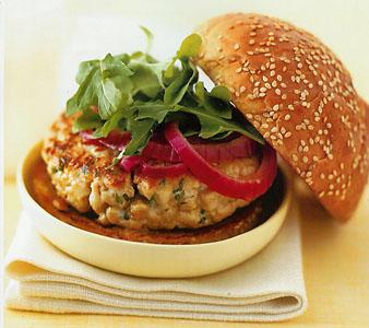 Dijon Tuna Burgers
