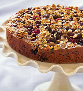 Whole Grain Mixed Berry Coffee Cake
