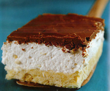 Chocolate Topped Marshmallow Bars
