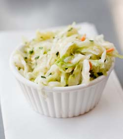 Healthy coleslaw recipe