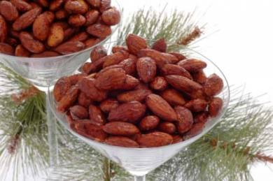 Cinnamon Roasted Almonds