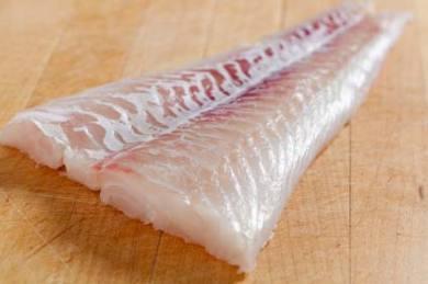 Blackened Alaskan Cod with Dill Sauce